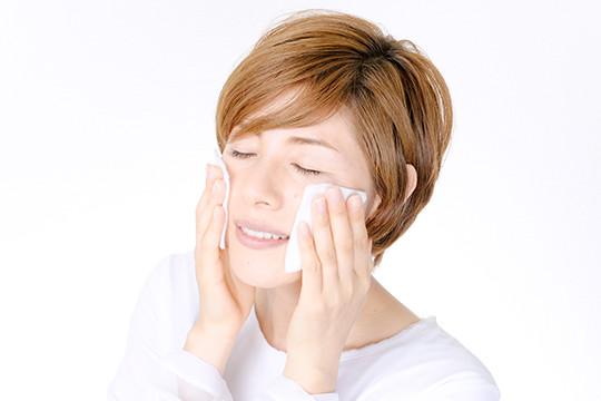 拭き取り洗顔
